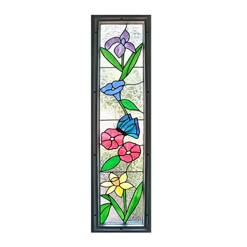 Sidelight Stained Glass Windows, Transom Stained Glass Windows